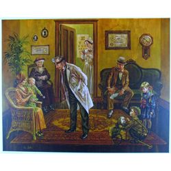 DOCTOR'S OFFICE FANTASTIC SOLD OUT DUBIN LTD ED