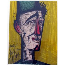 CLOWN COLORED LITHOGRAPH BERNARD BUFFET WHOLESALE ART