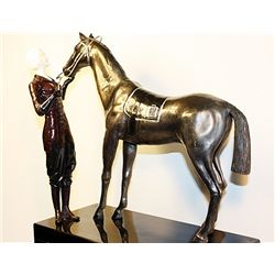 The Favorite - Bronze and Ivory Sculpture by Chiparus