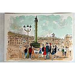 Place Vendome by Urbain Hutchet