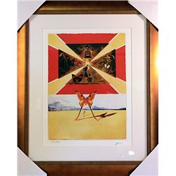Salvador Dali Signed Limited Edition - Roussicion