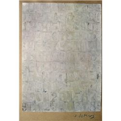 Jasper JOHNS,  Art of the Sixties  signed Special Print 1969