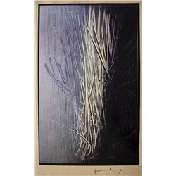 Hans HARTUNG,  Art of the Sixties  signed Special Print 1969