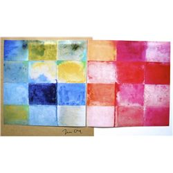 Jim DINE,  Art of the Sixties  signed Special Print 1969