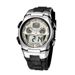 MWF1444 MEN~S SPORT WATCH Dual Core Date Week Alarm Sto