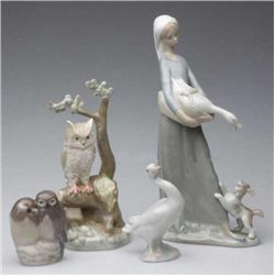 EUROPEAN CERAMIC FIGURES