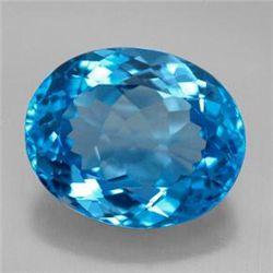 11.11ct Swiss Blue Topaz