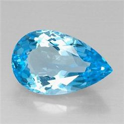 15.03ct Swiss Blue Topaz