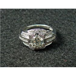 TB6364 Immaculate 1.15 carat Diamond Ring in .50 carat