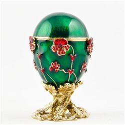 Faberge Pansy Egg