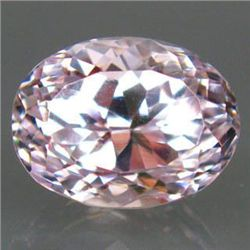 BRILLIANT 11.50ct. AAA TITANIUM PINK KUNZITE UNHEATED