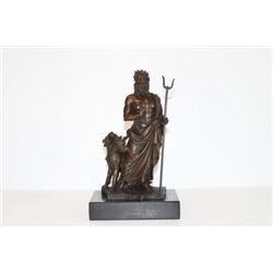 Marvelous Bronze Sculpture Hades God of the Underword