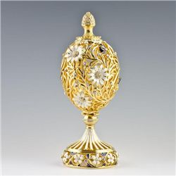 Resting Butterfly Faberge Egg