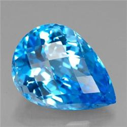 12.23ct Swiss Blue Topaz
