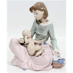 LLADRO FIGURE ~ DRESSING THE BOY ~
