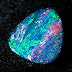 0.69Ct. Rare Natural Gem Multi Color Doublet Opal