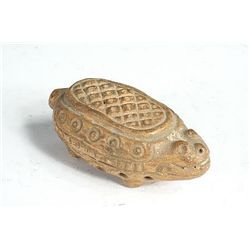 MAYAN POTTERY RATTLE Late Classic Period Pacific Coas