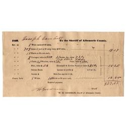 ANTEBELLUM TAX DOCUMENT
