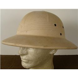 PACIFIC THEATRE PITH HELMET WITH REINFORCED CANVAS