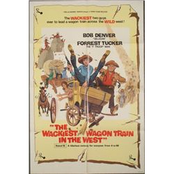 Wackiest Wagon Train in the West Orig Movie Poster