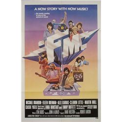 FM Original 1 Sh Movie Poster Rock & Roll Radio Film
