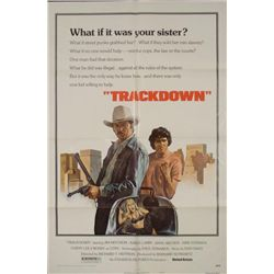 Trackdown Original 1 Sh Movie Poster James Mitchum