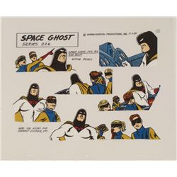 Space Ghost Jan Jace Blip Orig Model Cel Animation 1980