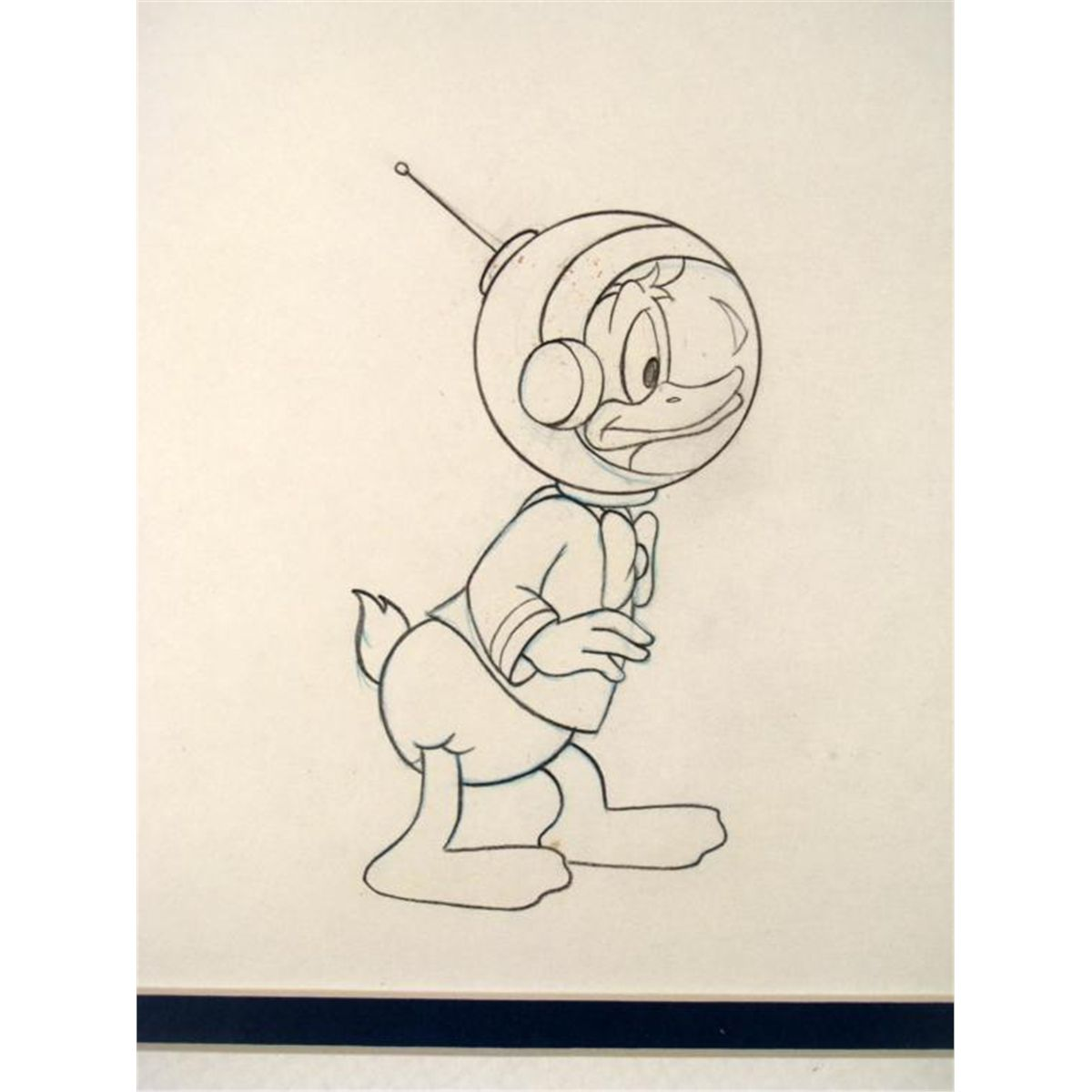 Original Donald Duck Drawing Donald Duck Cel Drawing