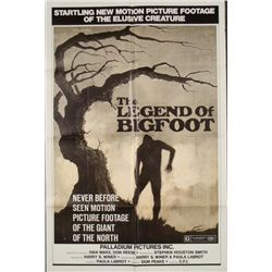 The Legend of Bigfoot Original 1 Sh Movie Poster 1976