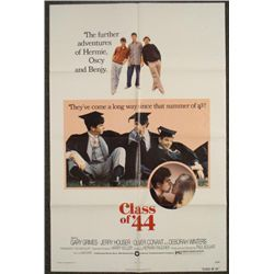 Class of 44 Original 1 Sheet Movie Poster 1973