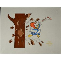 Woody Woodpecker Walter Lantz Cartoon Animation Sericel