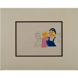 Dutch Boy Paint Commercial Orig Production Cel, Drawing