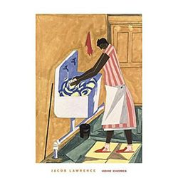 Jacob Lawrence : Home Chores, 1945