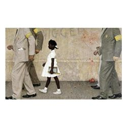 Norman Rockwell: The Problem We All Live With Giclee