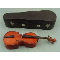 Miniature Viola Realistic Model Instrument w/ Case