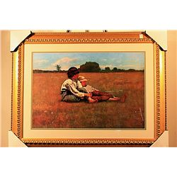 Winslow Homer Plate Signed Limited Edition
