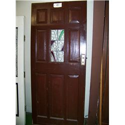 Old Entry Door from Home in England 77 x33 x1.75