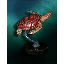 Bronze Sculpture - Honu by D. Hunter