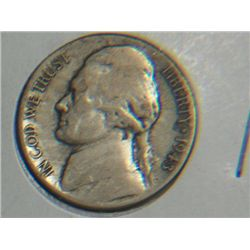 1943 S JEFFERSON NICKEL