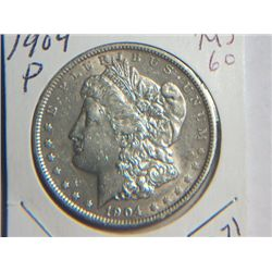 1904 P MORGAN DOLLAR