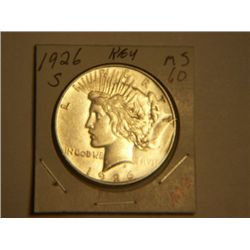 1926 S PEACE DOLLAR
