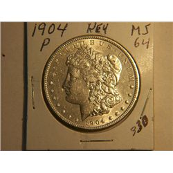 1904-P MORGAN DOLLAR
