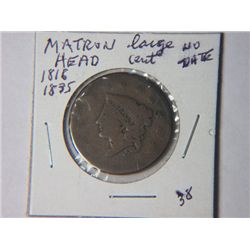 1816-1835 MATRON HEAD LARGE CENT