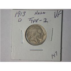 1913-D BUFFALO NICKLE