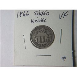 1866 SHIELD NICKLE