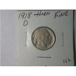 1918 D BUFFALO NICKLE