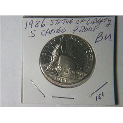 1986 S STATUE OF LIBERTY 1/2 DOLLAR