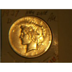 1927-D PEACE DOLLAR
