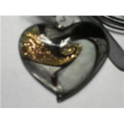 MURINO TYPE GLASS HEART