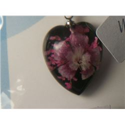 HOT PINK CARNATION NECKLACE